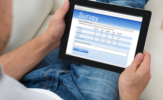 Survey your customer base
