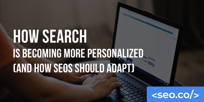 How Search is Becoming More Personalized